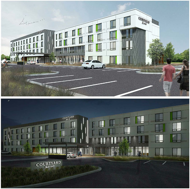 Olathe Station Marriott renderings