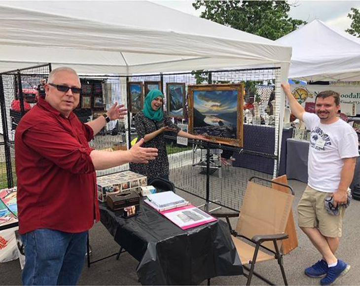 Olathe Station Art Fair 2018